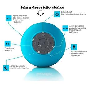Mini Caixa De Som Bluetooth Prova D