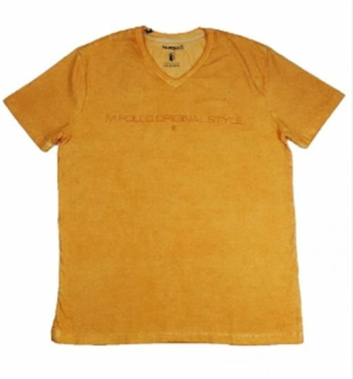 Camiseta T-shirt Just V Lifestyle Original Laranja Claro M