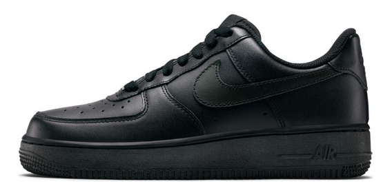 Zapatillas Nike Air Force 1 Black Mujer