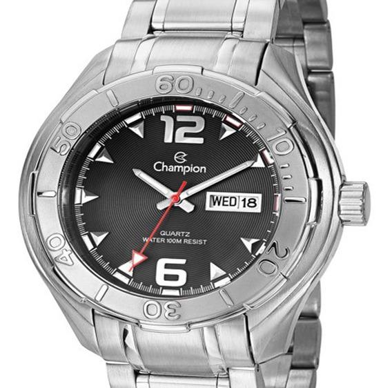 Relógio Masculino Original Champion - Nota Fiscal Sk49