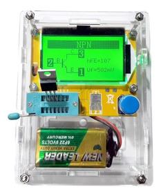 Testador De Componentes +case,transistor,resistor,diodo,etc.