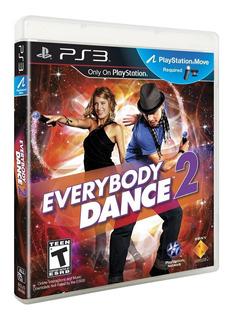 Juego Everybody Dance Ps3 Sony Original