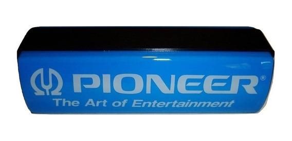Cartel Publicidad Acrilico Pioneer 1990 Original Excelente