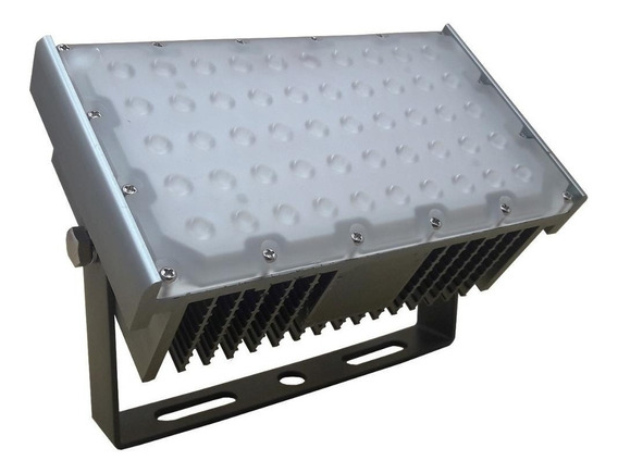 Refletor 50w Led Linear Cob Project-light Branco Frio Bivolt