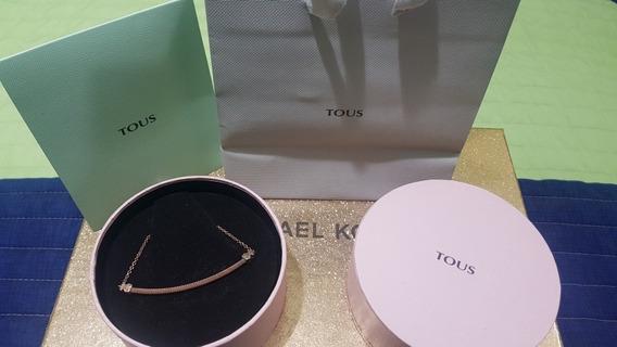 Collar Tous, Plata Vermeil, 100% Original.