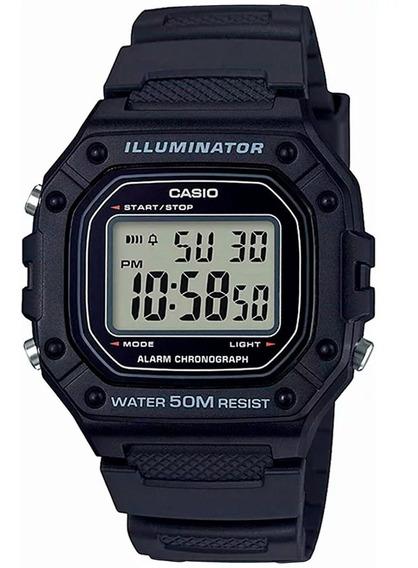 Relógio Casio Unissex Digital W-218h-1avdf