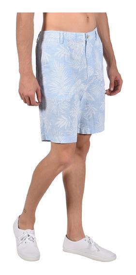 Short Flat Front Chaps Azul 750711464-21hd Hombre