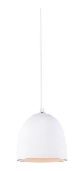 Pendente Luminaria Concreto 20 Cm Lustre Lighting Branco