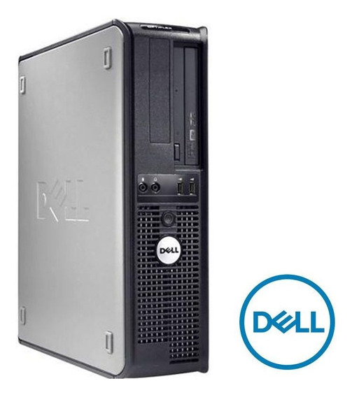 Computador Desktop Dell Optiplex Core 2 Duo 4gb Ram Hd 160gb