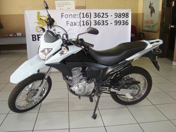 Honda Nxr 160 Bros Esdd Branco 2015