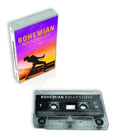 Queen Soundtrack Bohemian Rhapsody Cassette Import Nuevo