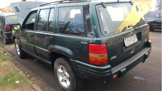 Sucata Jeep Cherokee Limitid V8 5.9 Litros 98 Funcionando