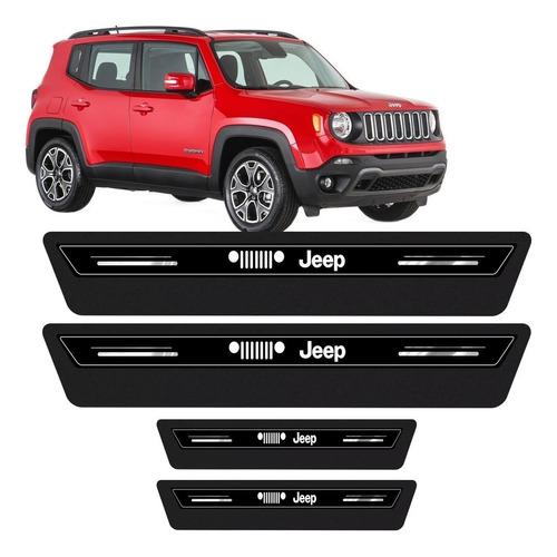 Kit Soleira Adesivo Proteção Porta Jeep Renegade 2021 Moab