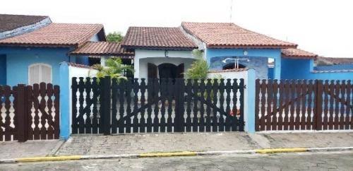 Casa Mobiliada Em Condomínio, No Jd. Praia Grande, Mongaguá
