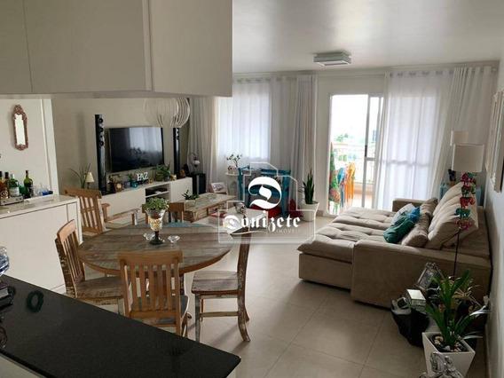 Apartamento Com 2 Dormitórios À Venda, 93 M² Por R$ 590.000,00 - Vila Valparaíso - Santo André/sp - Ap10886