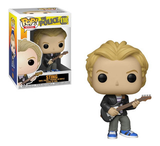 Funko Pop The Police Sting 118 Nuevo Original