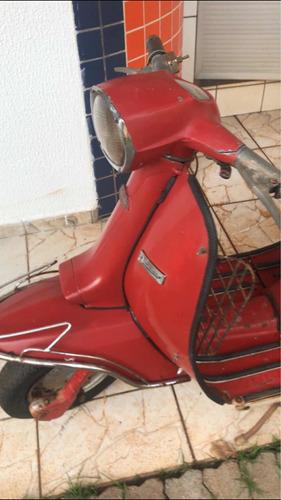 Lambreta Li 150 1.972 Antiga Original Barata!