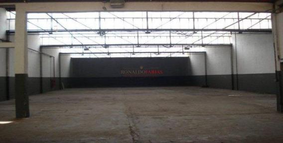 Alugo Galpao Industrial No Socorro-santo Amaro-sendo 900 Metros Area Fabril-trifasico - Sz2716