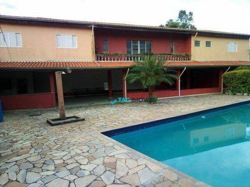 Chácara Com 3 Dormitórios À Venda, 1160 M² Por R$ 636.000 - Parque Valença Ii - Campinas/sp - Ch0038