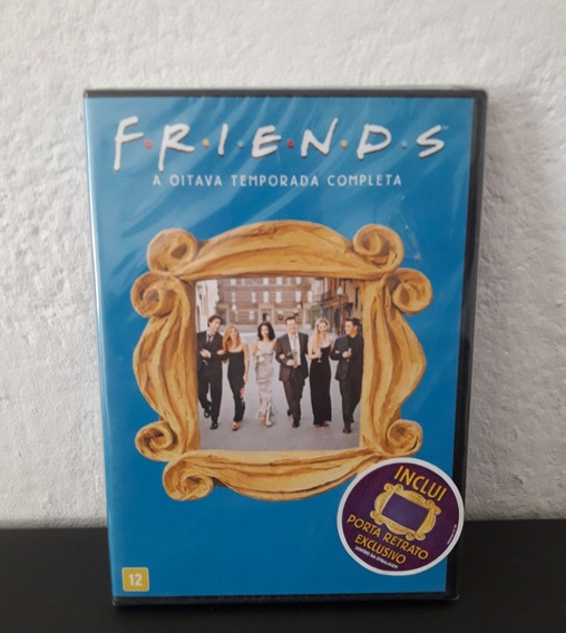 Dvd Friends 8ª Temporada - Lacrado - Oitava
