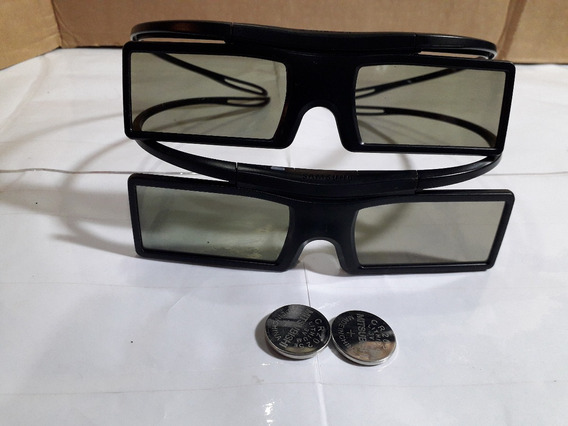 Par De Óculos 3d Ativo Samsung Ssg-4100gb