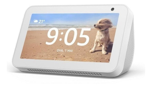 "Imagen 1 de 2 de Amazon Echo Show 5 1st Gen con asistente virtual Alexa, pantalla integrada de 5.5"" sandstone 110V/240V"