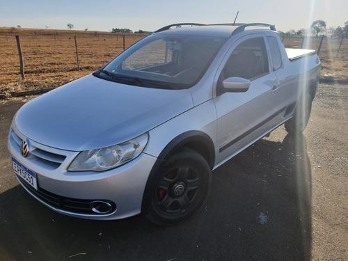 Imagem 1 de 7 de Volkswagen Saveiro 1.6 Trend Cab. Estendida Total Flex 2p