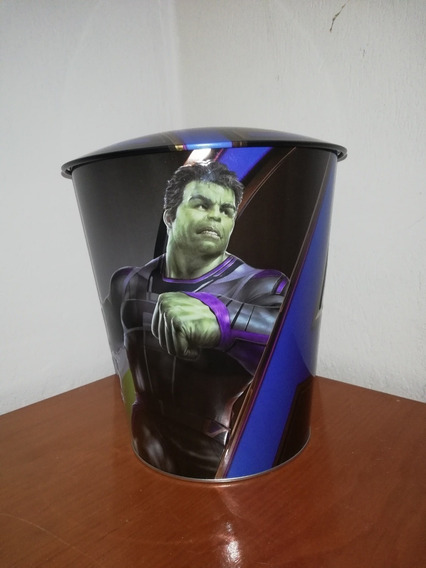 Palomera Cinepolis Marvel Avengers End Game Hulk + Vaso Recd
