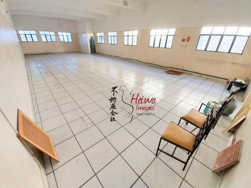 Imagem 1 de 13 de Salão Para Alugar, 200 M² Por R$ 4.000,00/mês - Vila Palmeiras - São Paulo/sp - Sl0102