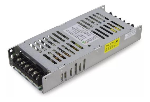 Fonte Slim 5v 40a 200w Mini - 220v - Painel De Led