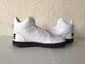 Nike Court Borough Mid White/black (básquetbol) Jordan