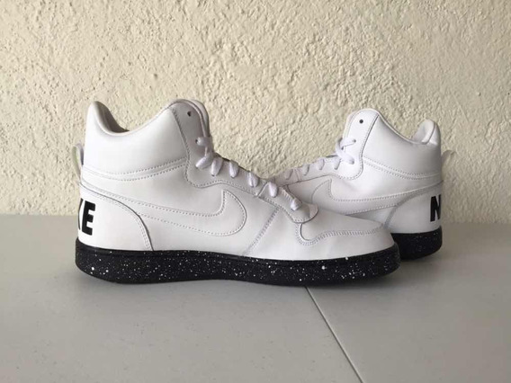 Nike Court Borough Mid White/black (básquetbol) Jordan