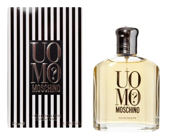 Perfume Moschino Uomo Edt Pour Homme 125ml - Original
