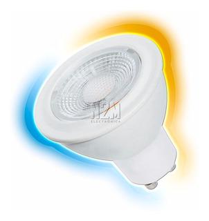 Lampara Led Dicroica 7w Gu10 220v Foco Blanco Calido Frio