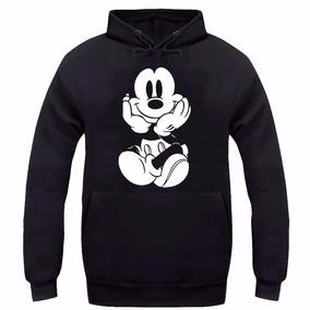 Blusa Mickey Minnie Feminino Casaco Canguru Moleton D Frio