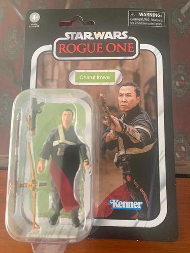 Star Wars Chirrut Imwe Rogue One Hasbro Tvc 3.75 Nuevo