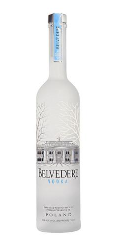 Imagen 1 de 3 de Vodka Belvedere, 750 Ml.