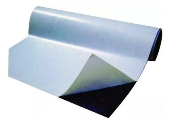 Rolo 5 Metros Imã Manta Magnética Adesivada 0,3 Lembrança