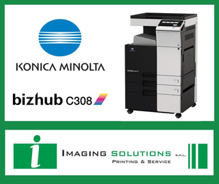 Konica Minolta C308. Full. Ideal Imprentas. 12 Sin Interes