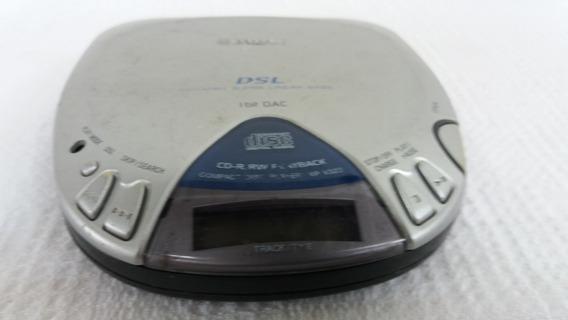 Disc Man Cd Player Aiwa Xp V328 Portátil Cod 2252