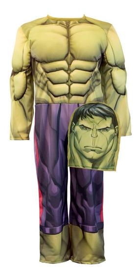 Disfraz Con Musculos Increible Hulk Newtoys Mundo Manias