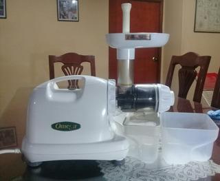 Extractor Profesional De Jugos Omega J8004 Blanco