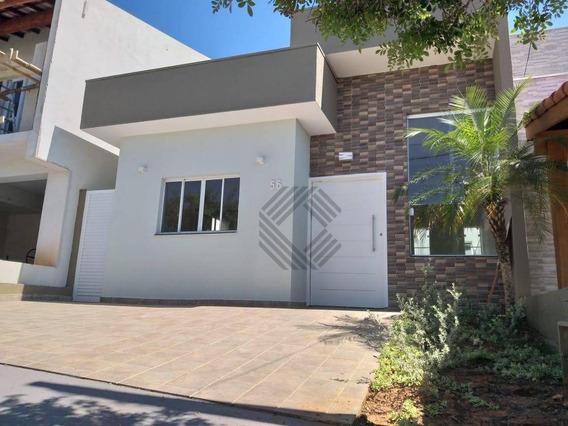 Casa Com 3 Dormitórios À Venda, 92 M² Por R$ 345.000,00 - Condomínio Horto Florestal Iii - Sorocaba/sp - Ca6733