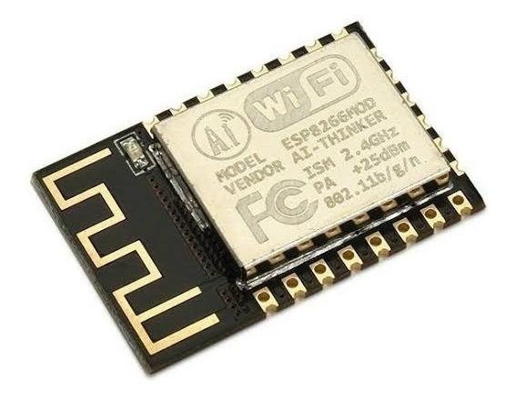 Módulo Mini Esp8266 Esp12f Wifi 802.11 Esp 12f