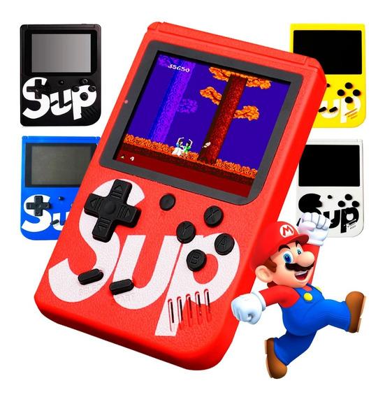 Mini Vídeo Game Portátil Boy Sup 400 Jogos Clássicos Cabo Av