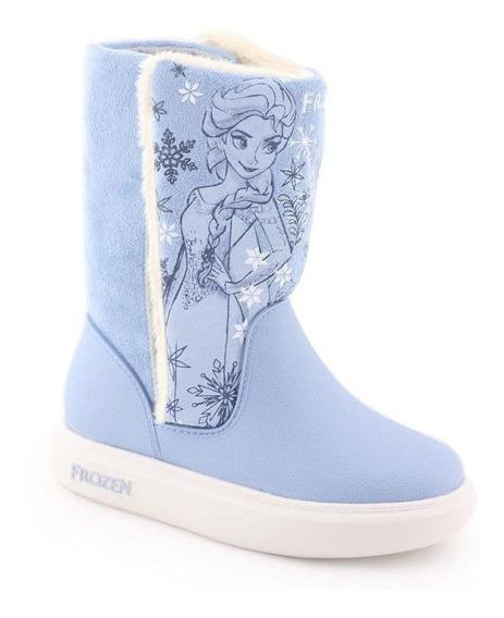 Bota Infantil Disney Frozen Com Pelo 21565 - Grendene