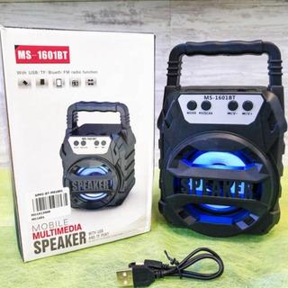Parlante Con Bluetooth Portatil Ms-1601