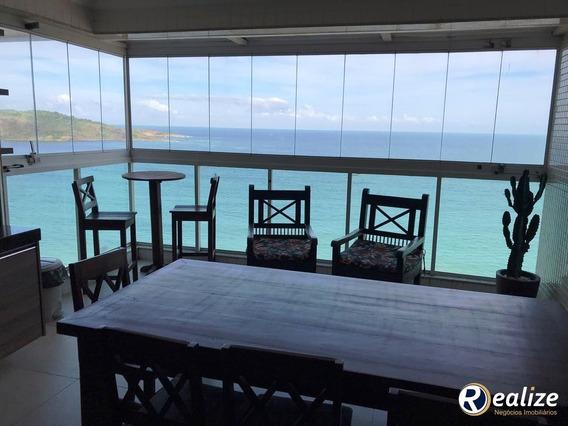 Cobertura Para Venda Em Guarapari / Es No Bairro Praia Do Morro - Pm307 - 33342009