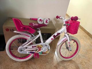 Bicicleta Barbie Niña