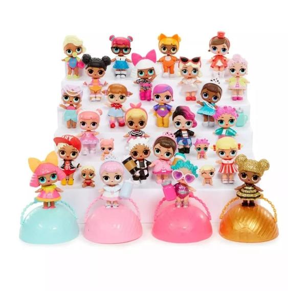 Brinquedo Boneca Lol Surpresa Glitter Kit C/10 Bolas P/e.